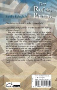 Sandra Rehschuh - Ruf des Pharaos - Backcover