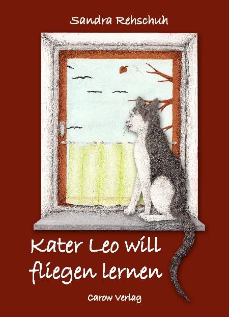 "Cover ""Kater Leo will fliegen lernen"""